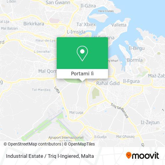 Mappa Industrial Estate / Triq l-Ingiered