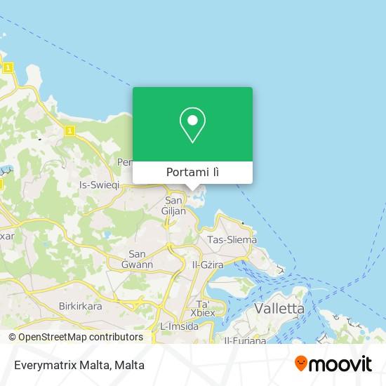 Mappa Everymatrix Malta
