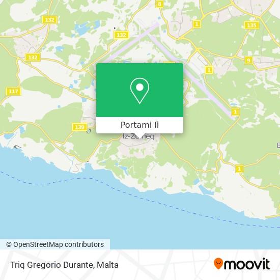 Mappa Triq Gregorio Durante