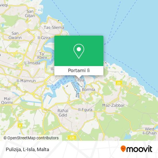 Mappa Pulizija, L-Isla