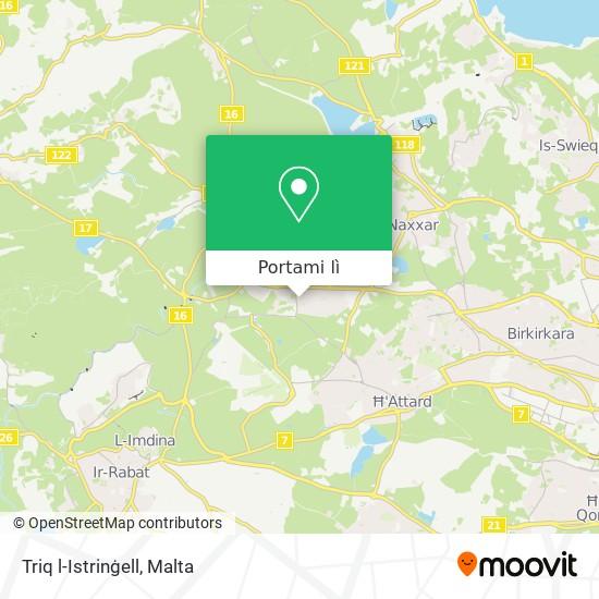 Mappa Triq l-Istrinġell