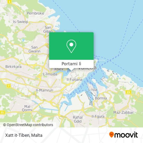 Mappa Xatt it-Tiben
