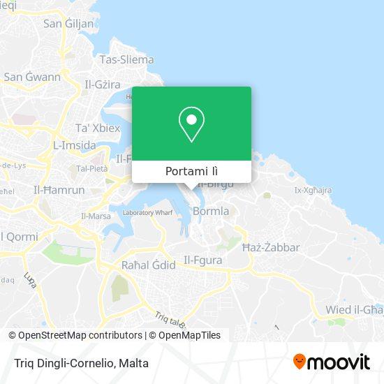 Mappa Triq Dingli-Cornelio
