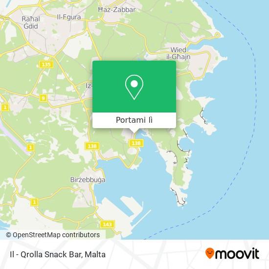 Mappa Il - Qrolla Snack Bar