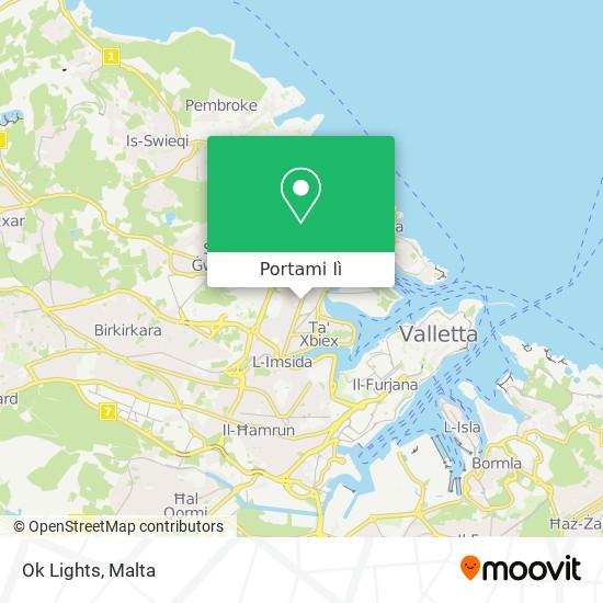Mappa Ok Lights