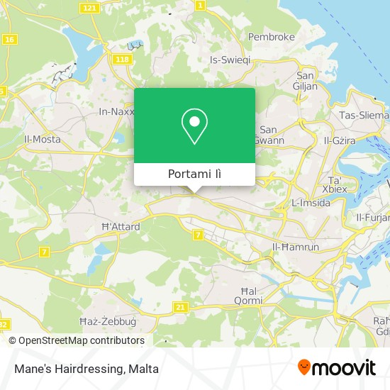 Mappa Mane's Hairdressing