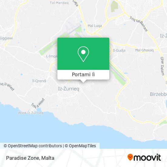 Mappa Paradise Zone