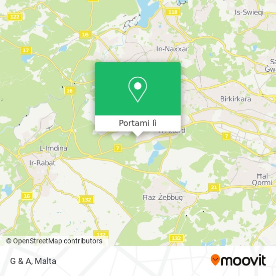Mappa G & A