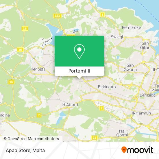 Mappa Apap Store