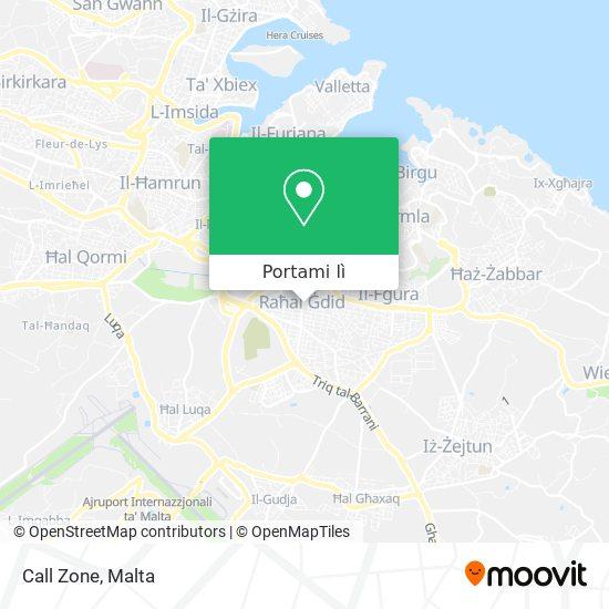Mappa Call Zone