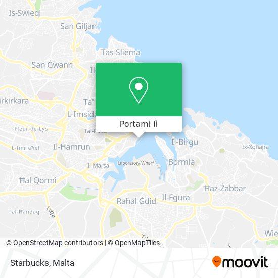 Mappa Starbucks