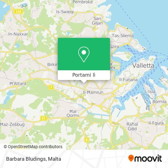 Mappa Barbara Bludings