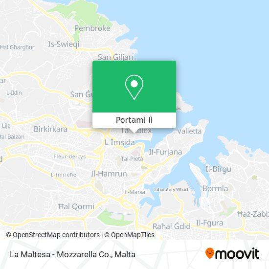 Mappa La Maltesa - Mozzarella Co.