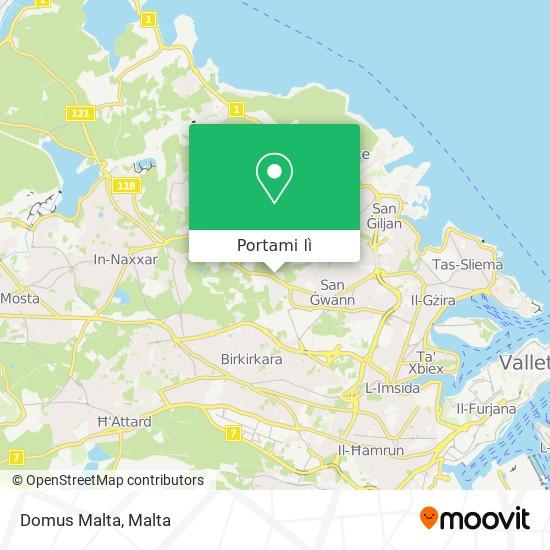 Mappa Domus Malta