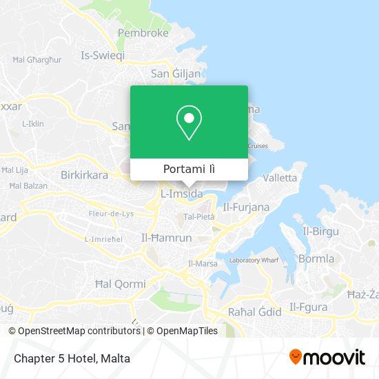 Mappa Chapter 5 Hotel