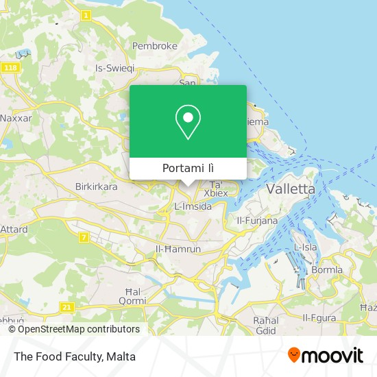 Mappa The Food Faculty
