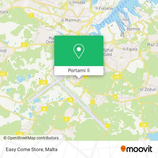 Mappa Easy Come Store