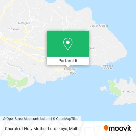 Mappa Church of Holy Mother Lurdskaya