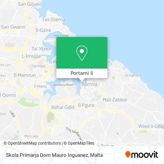 Mappa Skola Primarja Dom Mauro Inguanez