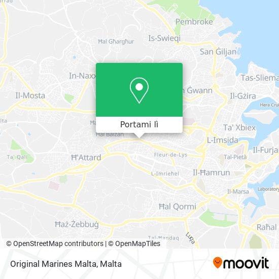 Mappa Original Marines Malta