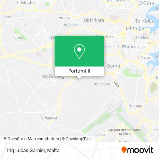Mappa Triq Luċas Garnier