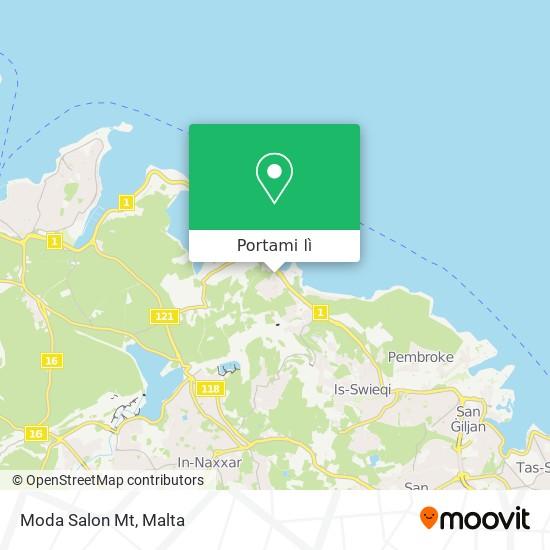Mappa Moda Salon Mt