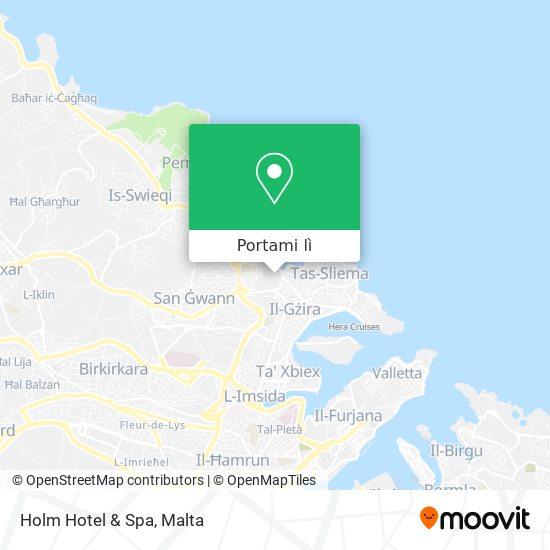 Mappa Holm Hotel & Spa