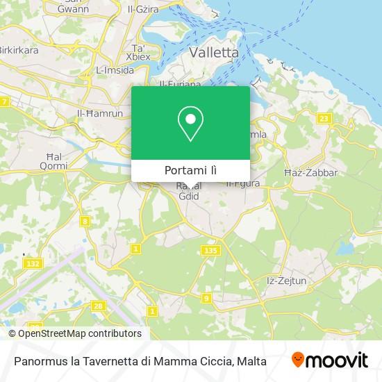 Mappa Panormus la Tavernetta di Mamma Ciccia