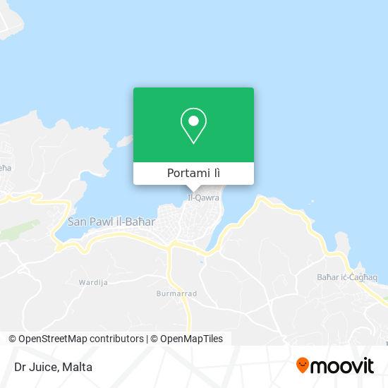 Mappa Dr Juice