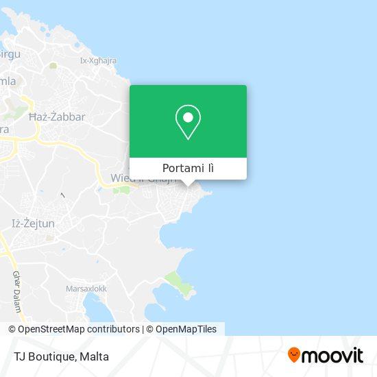 Mappa TJ Boutique