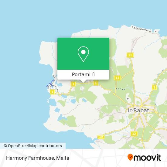 Mappa Harmony Farmhouse