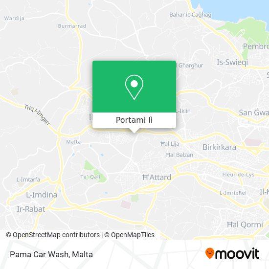 Mappa Pama Car Wash