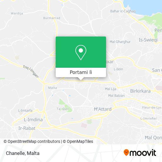 Mappa Chanelle