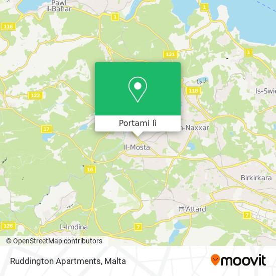 Mappa Ruddington Apartments