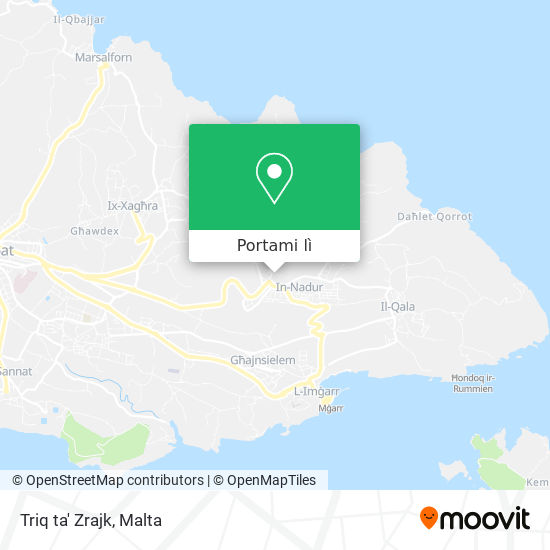 Mappa Triq ta' Zrajk