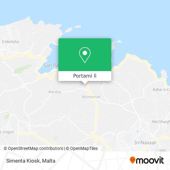 Mappa Simenta Kiosk