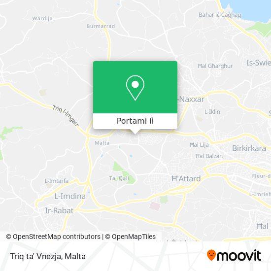 Mappa Triq ta' Vnezja