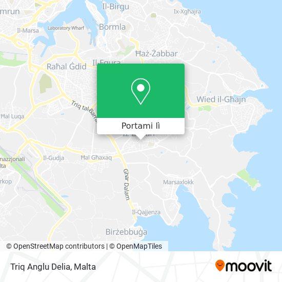 Mappa Triq Anglu Delia
