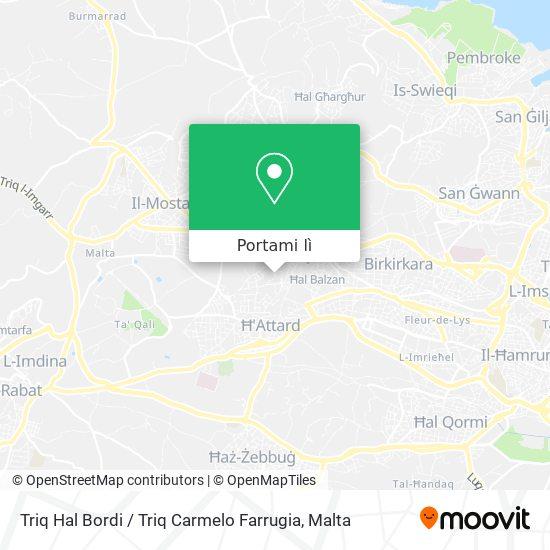Mappa Triq Hal Bordi / Triq Carmelo Farrugia