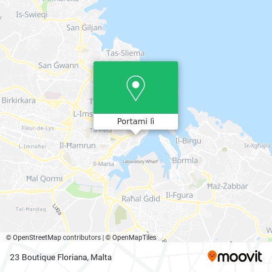 Mappa 23 Boutique Floriana