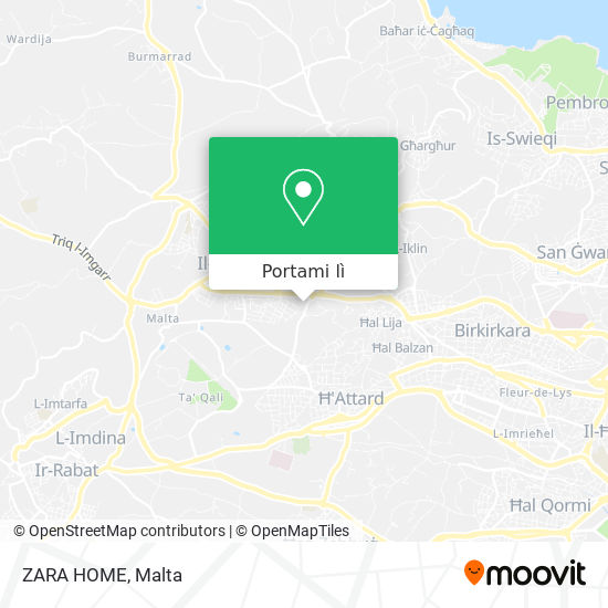 Mappa ZARA HOME