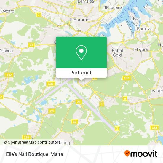 Mappa Elle's Nail Boutique