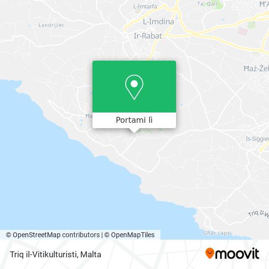 Mappa Triq il-Vitikulturisti