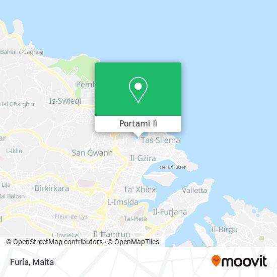 Mappa Furla