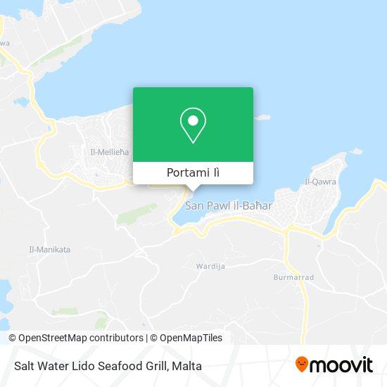 Mappa Salt Water Lido Seafood Grill