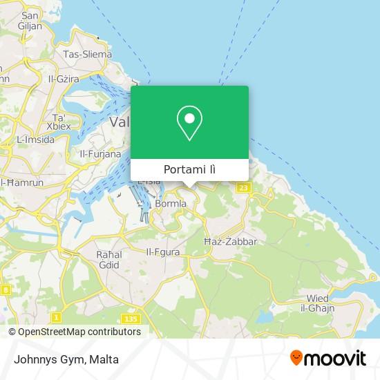 Mappa Johnnys Gym
