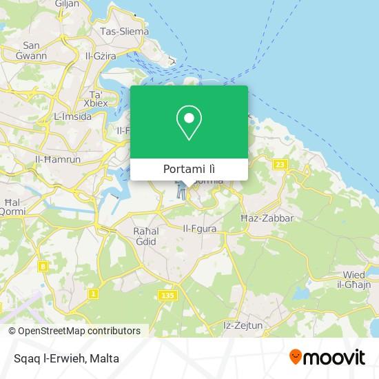 Mappa Sqaq l-Erwieh