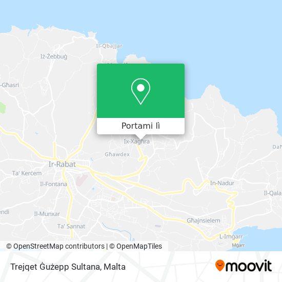 Mappa Trejqet Ġużepp Sultana