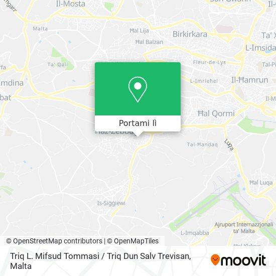 Mappa Triq L. Mifsud Tommasi / Triq Dun Salv Trevisan
