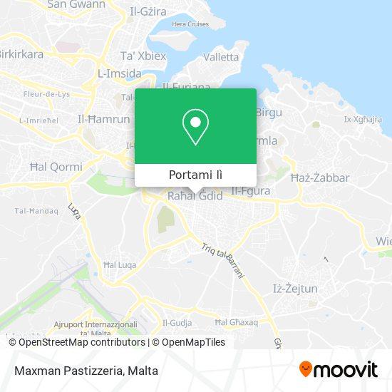 Mappa Maxman Pastizzeria